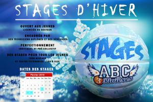 Stages ABC3R d'Hiver